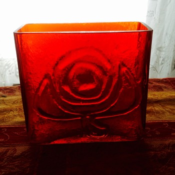 Mystery vase--Blenko??? - Art Glass