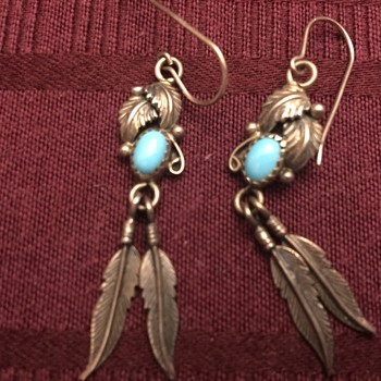 Sterling silver earrings - Fine Jewelry
