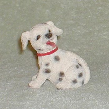 Dalmatian Puppy Figurine - Animals