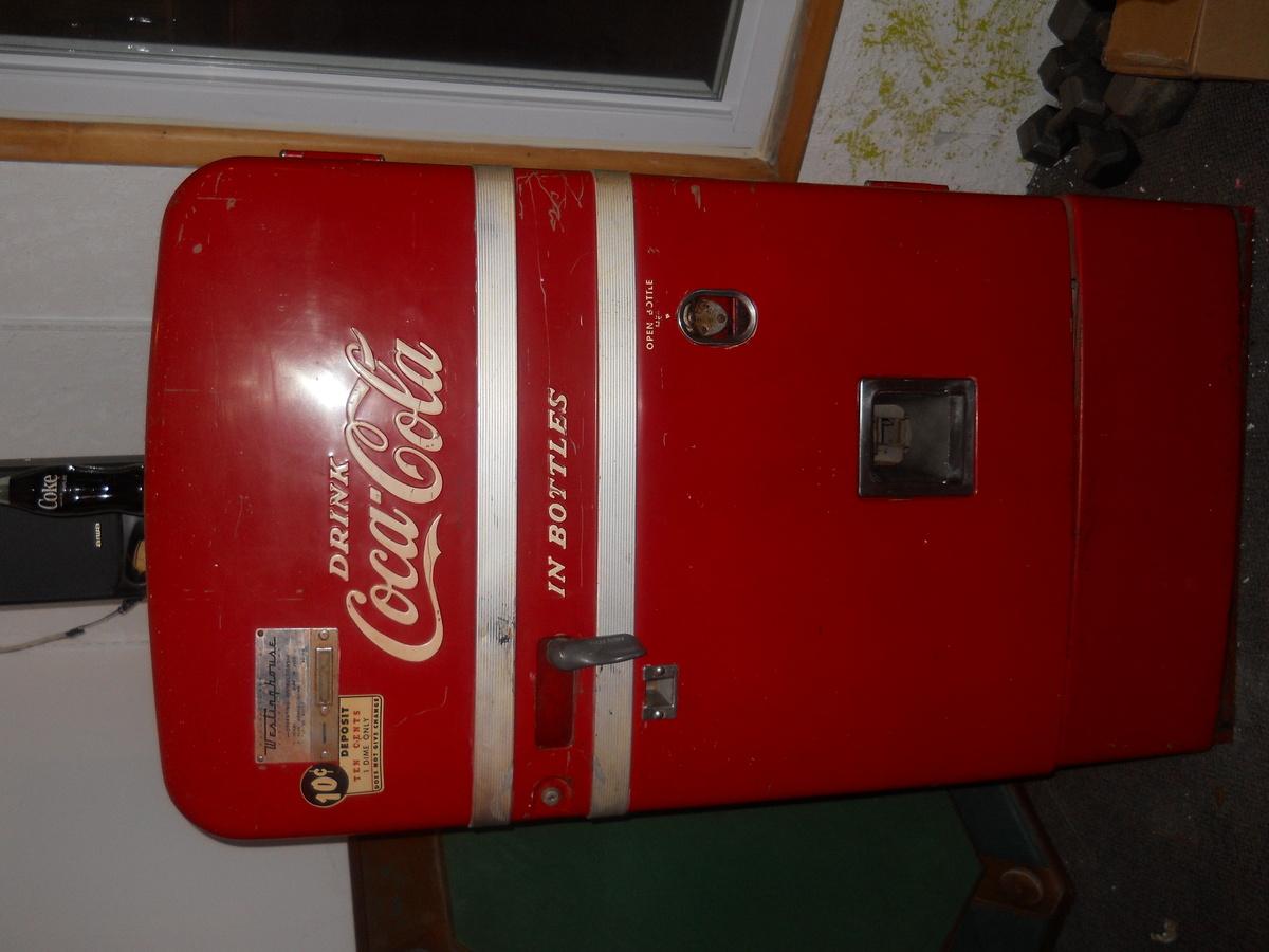 classic coke machine