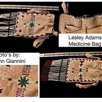 Turn of the Century Plains Indian Medican Bag 