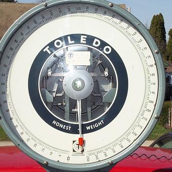 Toledo Scales floor model