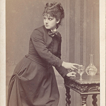 Actress Sophie Croizette CDV by A. Ken and Emile Bondonneau of Paris, France