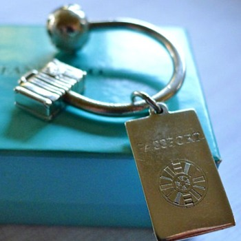 Tiffany Key Ring