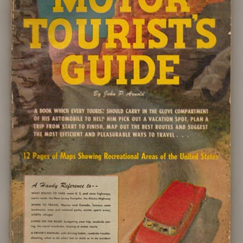 1953 Motor Tourists Guide - Paper