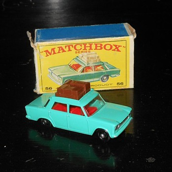 Matchbox Fiat 1500 with E Style Box