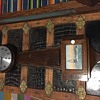 Gilbert 8 day banjo clock with ship picture