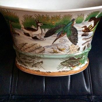Chinese planter vase