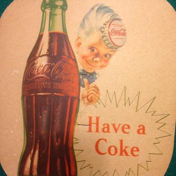 Coca Cola Sprite Boy fan - Coca-Cola
