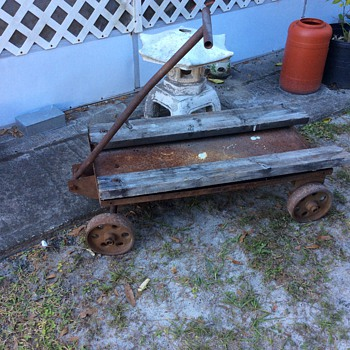 Steel cart / wagon