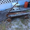 Steel cart / wagon