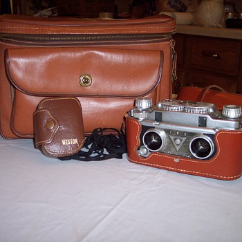 Vintage Camera Equipment - Cameras