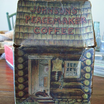 Johnson Peacemaker Coffee box. - Kitchen