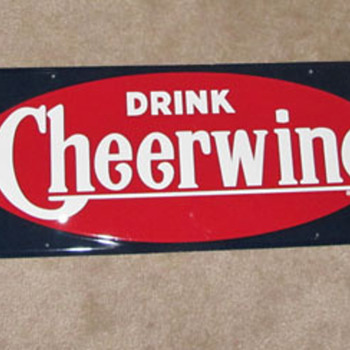 Cheerwine Sign