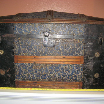 Cross Slat Trunk (pat. Mar. 1880)