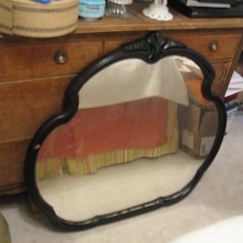 Vintage Mirror by P.M. & G. Co (?) May'29 - Furniture