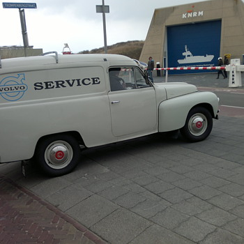 Volvo Duett bedrijfsuitvoering P 21124 from 1962. Since 1984 in the Netherlands.