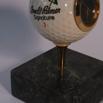 Arnold Palmer Signature Golf Ball Clock