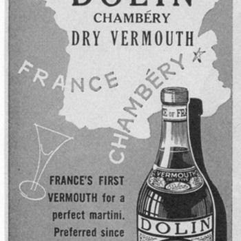 1950 Dolin Chambery Advertisement - Advertising