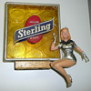 Sterling Beer Girl Light Up Sign