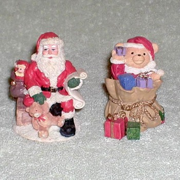 Ceramic Christmas Figurines - Christmas