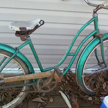 old montgomery ward bicycle (hawthorne) - Sporting Goods