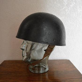 British WWII tank crew helmet.