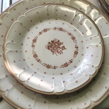 Renaissance 291 Arcadia brown 42pc-dinnerware