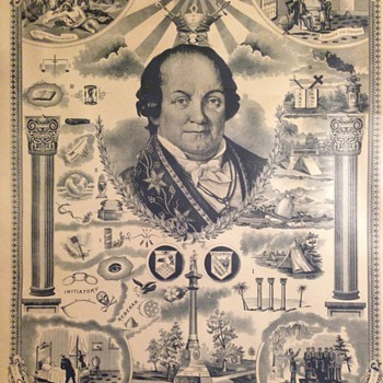 Odd Fellowship Illustrated Masonic Mystery - Posters and Prints