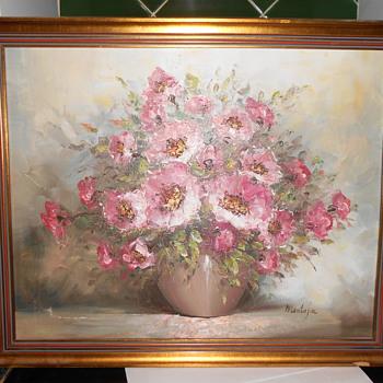 Oil Painting. Montague.