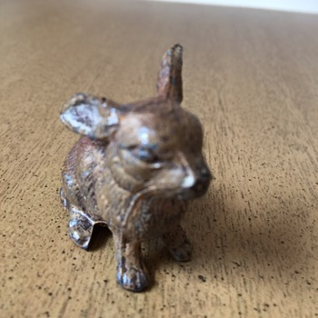 Cast Iron (?) Rabbit - Animals