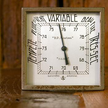 Art deco Aneroid Barometer  - Art Deco