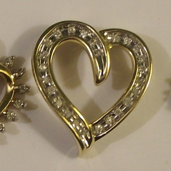 Gold Diamonds & hearts A Nice Trio From The 1960's