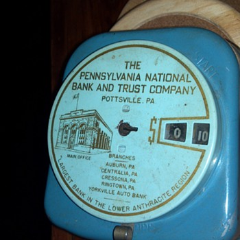 Pennsylvania National Bank and Trust Company Add-O-Matic Bank - Coin Operated