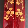 Riedel ruby vases