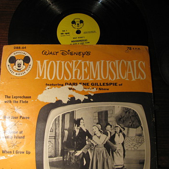 Mickey Mouse Record - Records