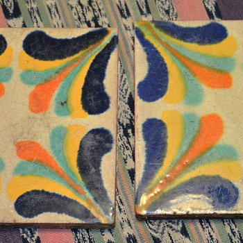 Beautiful six inch tiles - California?! - Art Pottery