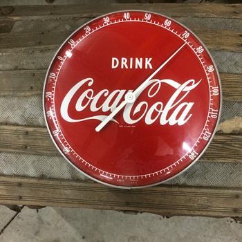 Coca Cola thermometer 1950's - Coca-Cola