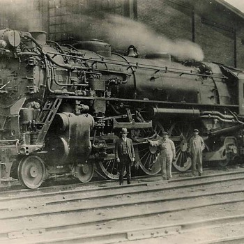 Steam engine - Railroadiana