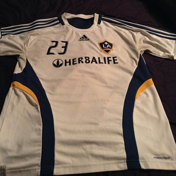 David Beckham Training Used Jersey