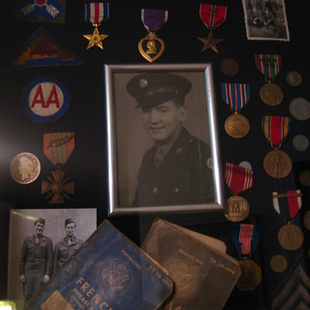 A Hero's Shadow Box - Military and Wartime