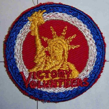 Small color patch VICTORY VOLUNTEERS