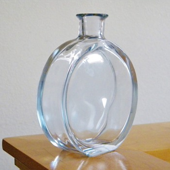 Vintage Strombergshyttan Decanter for $7.50 Signed Hallmarked  - Art Glass