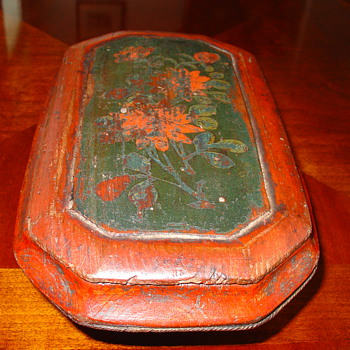 Antique Chinese Box - Asian