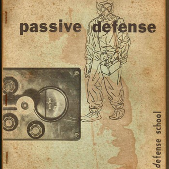1954  T.A.C. Passive Defense Manual - Paper