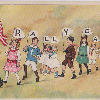Rally Day Postcard 1915