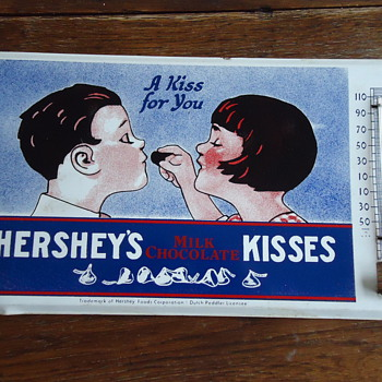 Hershey&#039;s Advertising Thermometer(Seeking info on