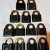 My Push Key Padlock collection