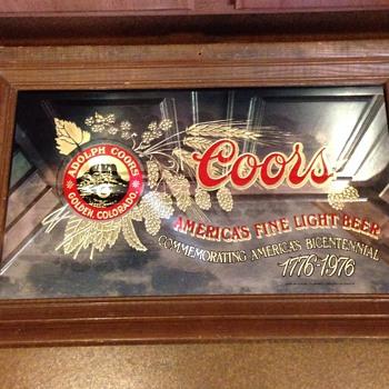 COORS bicentennial commemorative 1776-1976.