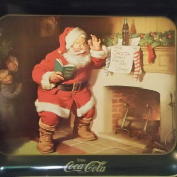 Awesome Cocacola tip/ serving tray!!!